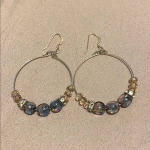 ALEX AND ANI beaded earrings